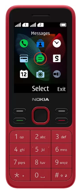 #4. Nokia 150 DS 2020 (Red)