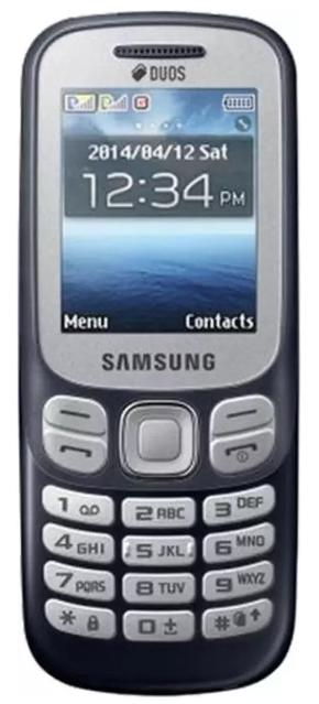 #2. Samsung Metro 313 Dual Sim (Black)